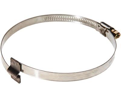Хомут червячный с мостиком диаметр 90-110 мм JET SH090-110