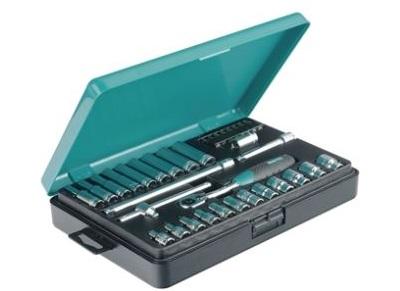 "Набор торцевых ключей 1/4"" Kamasa-Tools K 25005, 34 предмета"