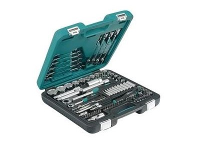 """Набор инструментов 1/2"""" + 1/4"""" Kamasa-Tools K 25015, 92 предмета"""