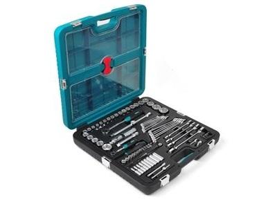 """Набор инструментов 1/2""""+1/4"""" Kamasa-Tools K 25016, 99 предметов"""