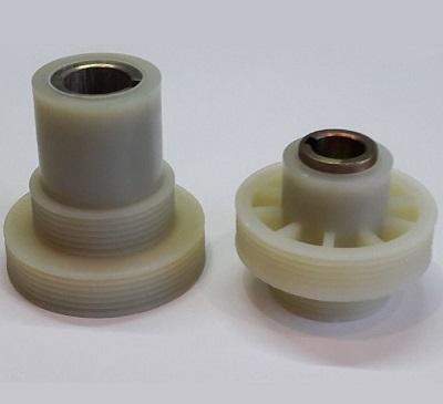 Комплект шкивов для станка Могилев ИЭ-6009А4.2 (пластик)