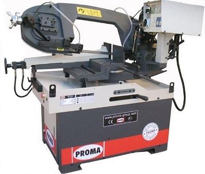 Полуавтоматический ленточнопильный станок по металлу Proma PPS-270HPA 27027000