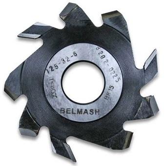 Фреза пазовая с подрезающими зубьями Belmash 125х32х6 RF0018A