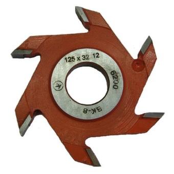 Фреза дисковая пазовая Belmash 125х32х12 z 6