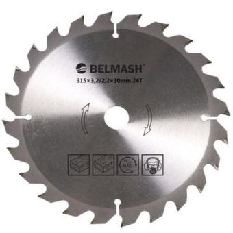 Пильный диск по дереву Belmash (315х30мм; 24Т) RD071A