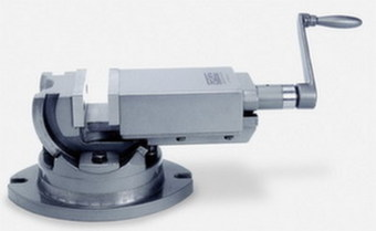 Тиски станочные, двухосевые, высокоточные Groz AMV/SP-50 GR35000