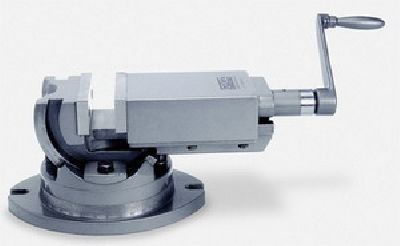 Станочные двухосевые тиски Groz AMV/SP-125 GR35003