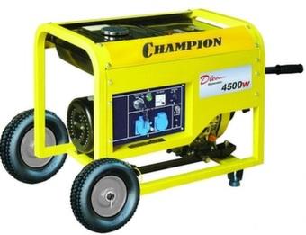 Дизельный генератор Champion DG6000E