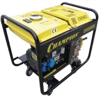 Дизельный генератор Champion DG6500E