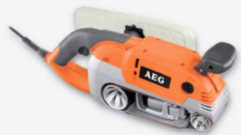 Ленточная шлифовальная машина AEG HBS 1000 E