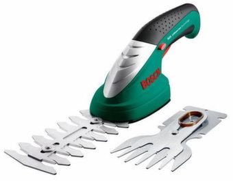 Аккумуляторный кусторез + ножницы Bosch ISIO 2 0.600.833.027