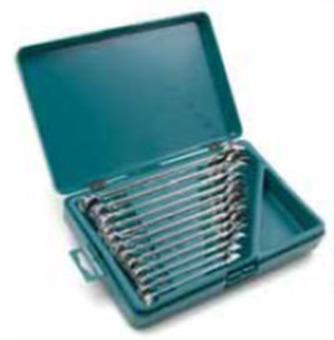 Набор комбинированных ключей Kamasa-Tools K 10026 (8-19мм 12шт)