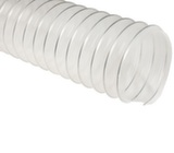 Прозрачный полиолефиновый шланг, длина 5м, диаметр 100мм, стенка 0,5мм JET PO500.100.5