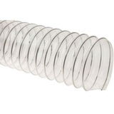 Прозрачный полиуретановый шланг, длина 10м, диаметр 100мм, стенка 0,5мм JET WP-100-10