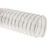 Прозрачный полиуретановый шланг, длина 5м, диаметр 100мм, стенка 0,5мм JET WP-100-50
