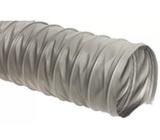 Серый универсальный шланг ПВХ, длина 10м, диаметр 100мм, стенка 0,3мм JET PVP300.100.10