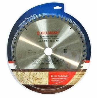 Пильный диск по дереву Belmash (280х32мм; 48Т) RD027A