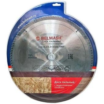 Пильный диск по дереву Belmash (315х32; 100Т) RD032A