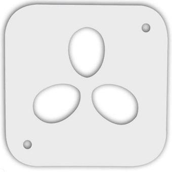 Решетка перепелиная на 3 яйца к овоскопу Несушка