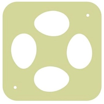 Решетка гусиная на 4 яйца к овоскопу Несушка