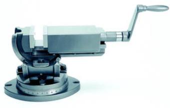 Тиски станочные трехосевые, высокоточные Groz TLT/SP-75 GR35021